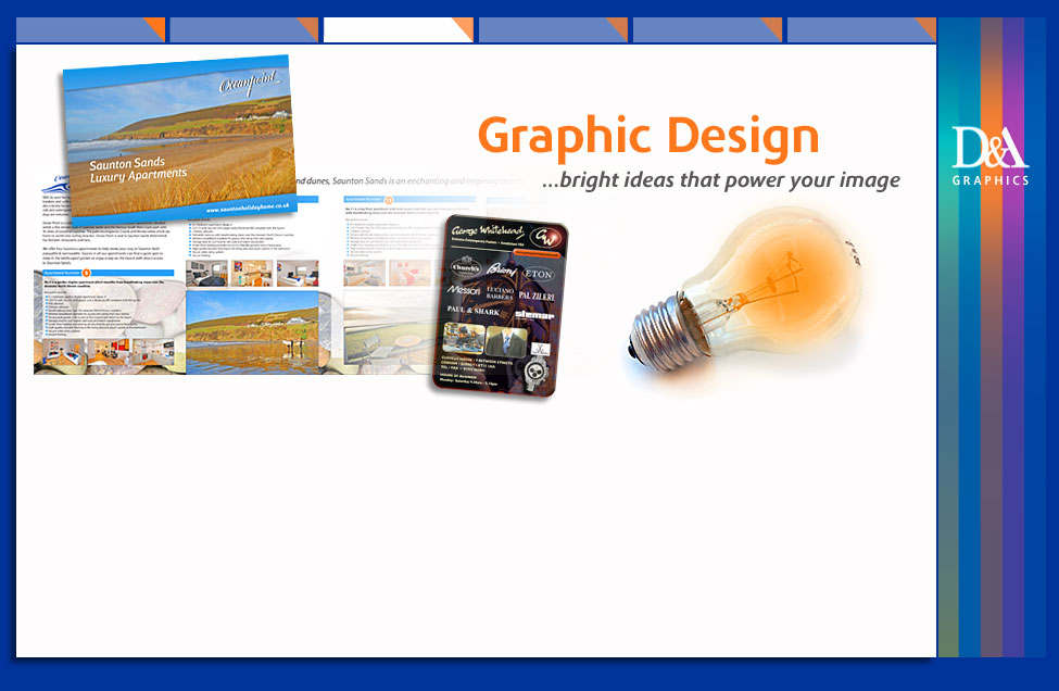 D&A Graphics graphic design and digital printing services cobham surrey